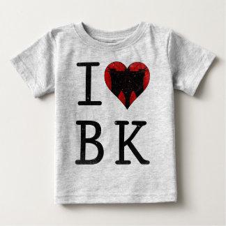 Camiseta Para Bebê Eu amo o T de Brooklyn BK NYC