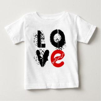 Camiseta Para Bebê Eu amo o Tshirt do bebê de Edmonton