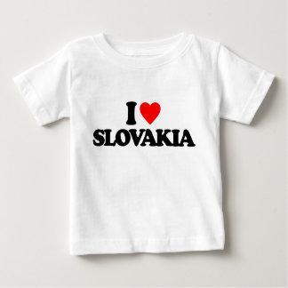 CAMISETA PARA BEBÊ EU AMO SLOVAKIA