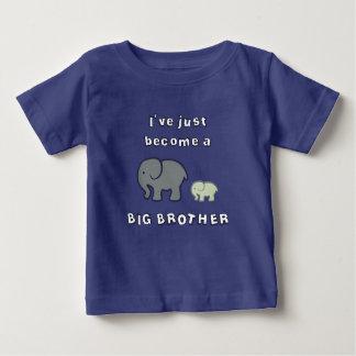 Camiseta Para Bebê Eu apenas transformei-me um BIG BROTHER