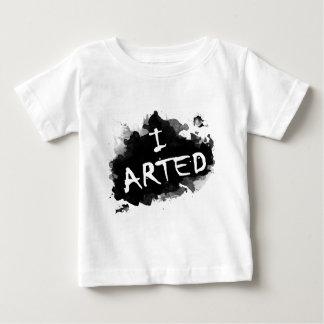Camiseta Para Bebê Eu arted