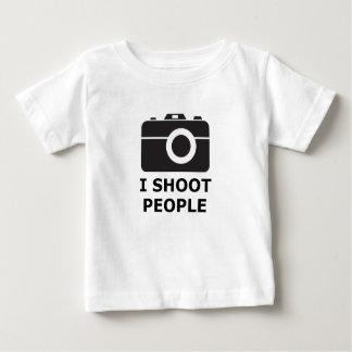 Camiseta Para Bebê Eu disparo em pessoas