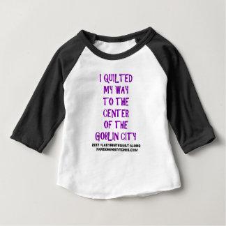 Camiseta Para Bebê Eu estofei minha maneira!