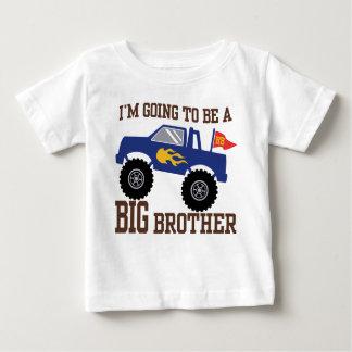 Camiseta Para Bebê Eu estou indo ser um monster truck do big brother