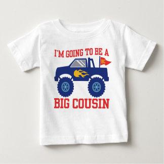 Camiseta Para Bebê Eu estou indo ser um primo grande
