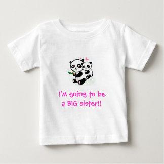Camiseta Para Bebê Eu estou indo ser um t-shirt da irmã mais velha