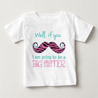 Camiseta Para Bebê Eu estou indo ser uma irmã mais velha