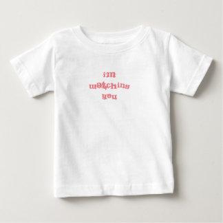 """Camiseta Para Bebê """"Eu estou olhando-o"""" bebês/t-shirt dos miúdos"""
