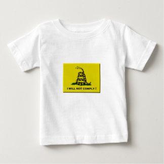 Camiseta Para Bebê Eu não cumprirei