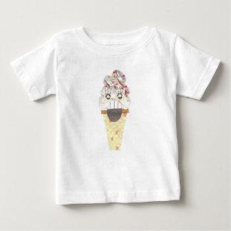 Camiseta Para Bebê Eu não grito nenhum t-shirt do bebê do fundo