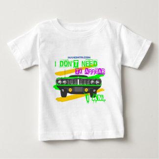Camiseta Para Bebê Eu não preciso de aparecer, mim sou