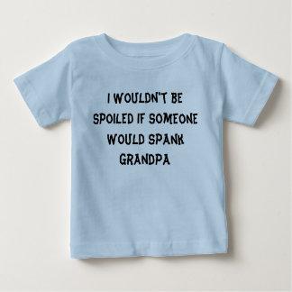 Camiseta Para Bebê Eu não seria… avó estragada do vovô