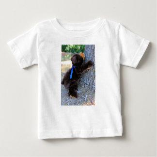 Camiseta Para Bebê Eu penso que eu posso