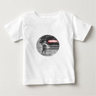 Camiseta Para Bebê Eu pesco porque eu amo a