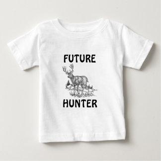 Camiseta Para Bebê Eu preferencialmente estaria caçando