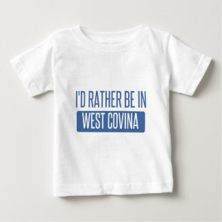 Camiseta Para Bebê Eu preferencialmente estaria em Covina ocidental