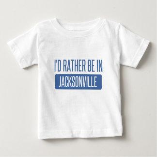 Camiseta Para Bebê Eu preferencialmente estaria em Jacksonville NC