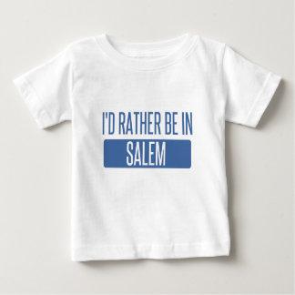 Camiseta Para Bebê Eu preferencialmente estaria em MÃES de Salem