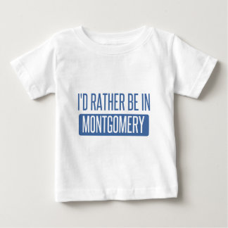 Camiseta Para Bebê Eu preferencialmente estaria em Montgomery