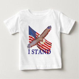 Camiseta Para Bebê eu represento América