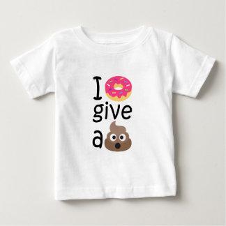 Camiseta Para Bebê Eu rosquinha dou um emoji do tombadilho