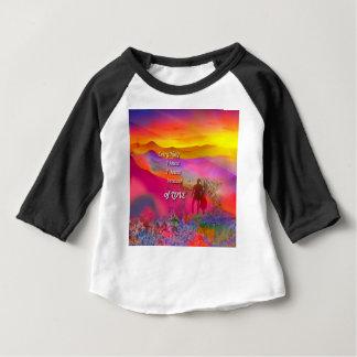 Camiseta Para Bebê Eu sei aquele eu te amo