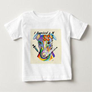 Camiseta Para Bebê Eu sobrevivi a uma carreira dos cuidados