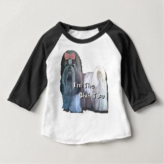 Camiseta Para Bebê Eu sou a coleção de Shih Tzu