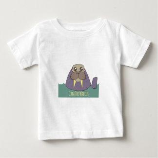 Camiseta Para Bebê Eu sou a morsa