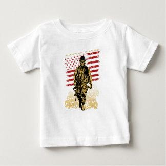 Camiseta Para Bebê Eu sou a sombra