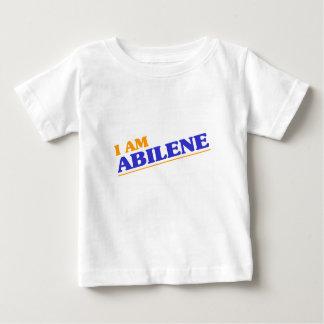 Camiseta Para Bebê Eu sou Abilene