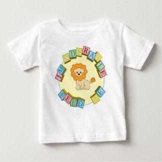 Camiseta Para Bebê Eu sou adorável alimento-me! Design do macarronete