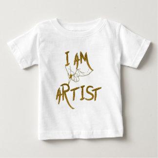 Camiseta Para Bebê Eu sou artista