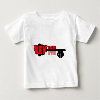 Camiseta Para Bebê Eu sou chave