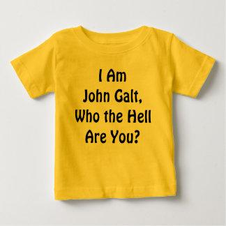 Camiseta Para Bebê Eu sou John Galt, que é você?