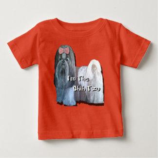 Camiseta Para Bebê Eu sou o Shih Tzu - o Tshirt do miúdo