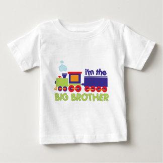 Camiseta Para Bebê Eu sou o t-shirt do trem do big brother