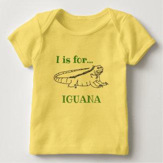 Camiseta Para Bebê Eu sou para a iguana