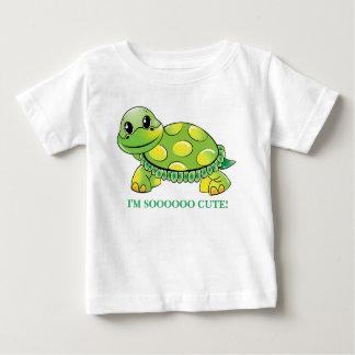 "Camiseta Para Bebê ""Eu sou SOOOOO BONITO!""  Tartaruga do bebê"