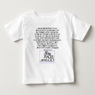 Camiseta Para Bebê Eu sou sua cópia roxa TRASEIRA do cão FNL