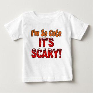 Camiseta Para Bebê Eu sou tão bonito, é bebê assustador o Dia das