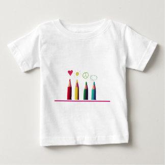 Camiseta Para Bebê Eu sou tão colorido