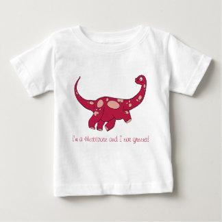 Camiseta Para Bebê Eu sou um herbívoro!