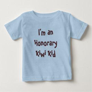 Camiseta Para Bebê Eu sou um miúdo honorário do quivi