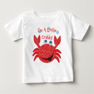 Camiseta Para Bebê Eu sou um pouco Crabby