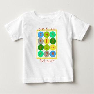 Camiseta Para Bebê Eu sou um t-shirt real do bebê do gênio da