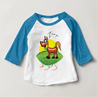 Camiseta Para Bebê Eu te amo JESUS