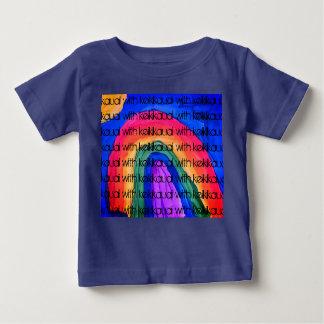 Camiseta Para Bebê Eu ver um arco-íris, criança inteiramente