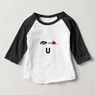 Camiseta Para Bebê eu vi-o