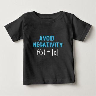 Camiseta Para Bebê Evite a negatividade